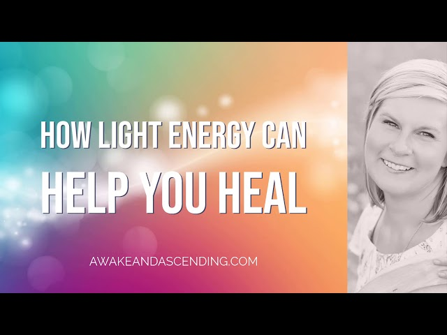 How light energy can help you heal