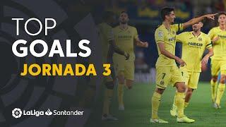 Todos los goles de la Jornada 3 de LaLiga Santander 2019/2020