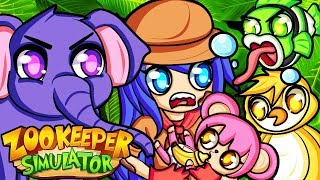 The animals are CRAZY in ZooKeeper Simulator!