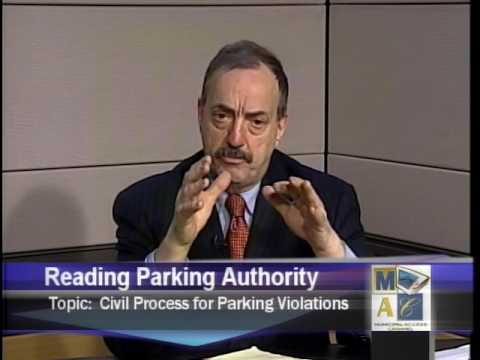 Civil process for parking violations