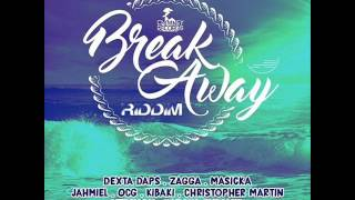 Break Away Riddim Mix (FULL) - Feb 2016 Selecta Ice