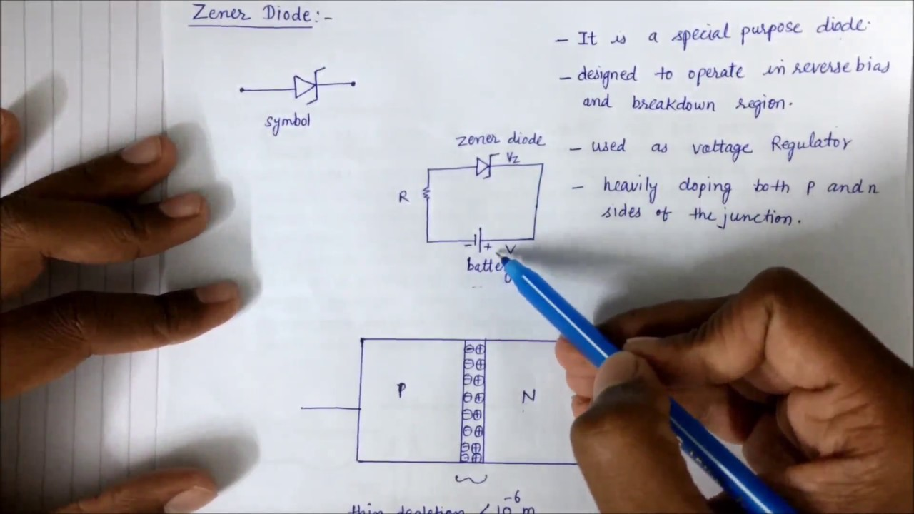 Zener Diode In Hindi Youtube Zenerdiodecircuits Circuits
