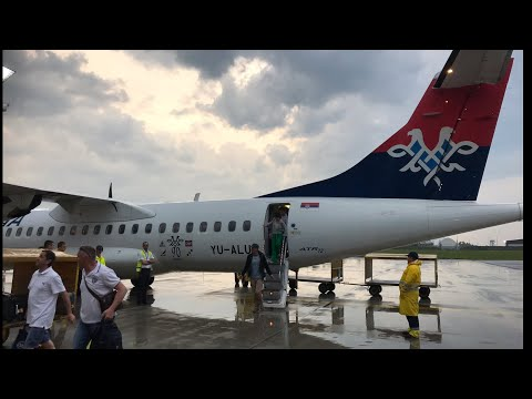 AIR SERBIA - Belgrade to Zagreb by ATR-72, Economy Trip Report