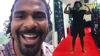 """David haye reveals return in works; full recovery & will be fighting """"way quicker"""" than people think"""