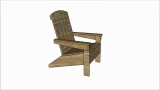 http://myoutdoorplans.com SUBSCRIBE for a new DIY video almost every day! Building an adirondack chair will help you enhance
