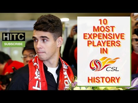 10 Most Expensive Players In Chinese Super League History