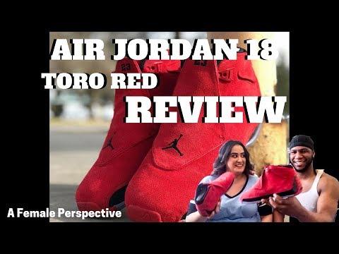 ae5b60322c9821 AIR JORDAN 18 TORO UNBOXING REVIEW