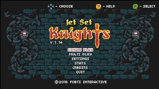 Jet Set Knights Walkthrough