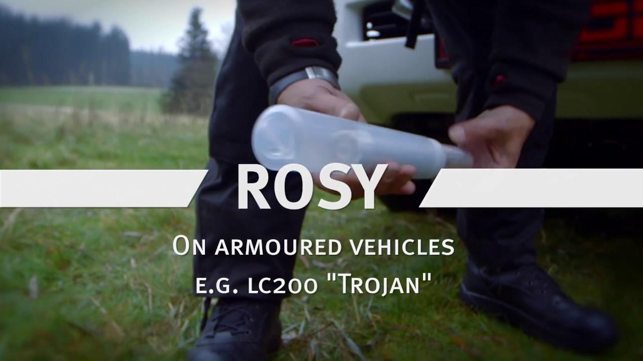 Download Rheinmetall ROSY_ Mod Schutzsystem integriert in Toyota LC200 Trojan
