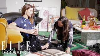 à la mode - Behind the Scenes for ELLE Deco Fashion Issue