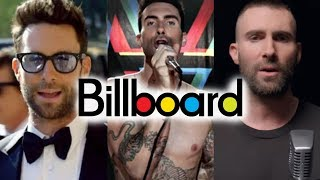 Download Maroon 5 - Billboard Chart History Mp3