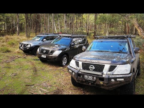 The Best Sounding 4WD In the World: The Y62 SA/Vic Meetup at Mt Cole