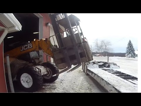 Hydraulic hoses, fuel soaked gloves, fork lifts and snowmobiles
