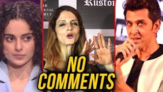 Sussanne Khan IRRITATED REACTION On Hrithik Roshan And Kangana Ranaut