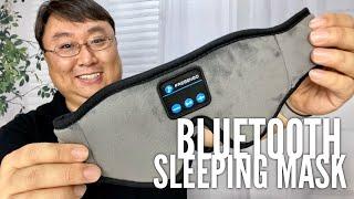 Best Bluetooth Sleep Eye Mask Headphones by FREGENBO Review