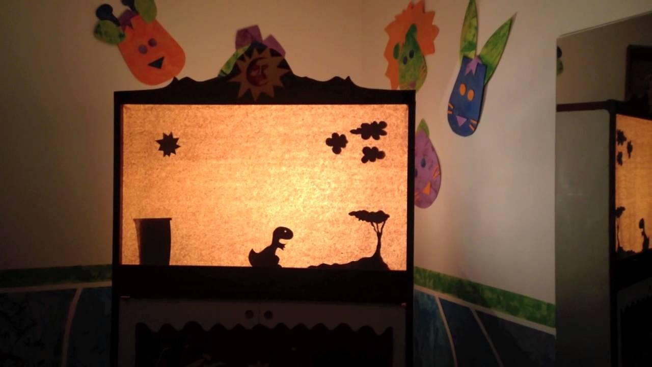 Teatro de sombras d a del ni o 2014 caja de colores for Caja de colores jardin infantil