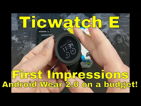 Ticwatch E Vs The Amazfit Pace International Giveaway