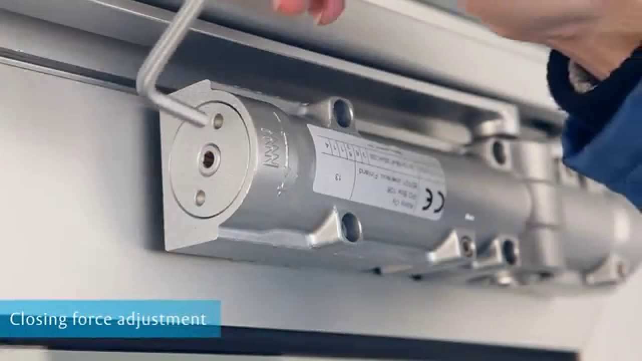 Assa Abloy Door Closers Adjustments Youtube