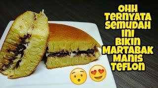ANTI GAGAL! Resep Martabak manis Teflon | Terang bulan enak, Kenyal dan Bersarang + GIVEAWAY 100K