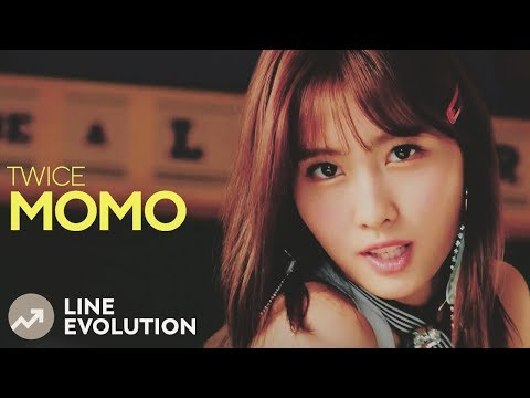 TWICE - MOMO (Line Evolution)