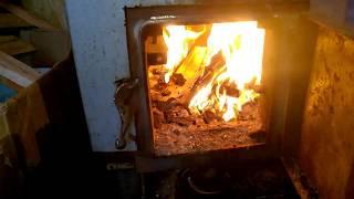 Усовершенствование газового котла ''Красный октябрь'' 16 кВт Твердотопливный котел