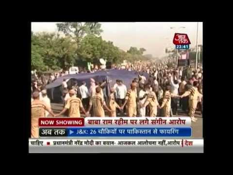 Sant Ram Rahim Singh Ji Insan accused of castrating followers, theft, rape