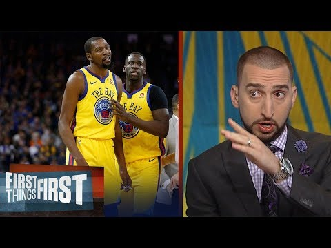 Nick Wright reacts to the Warriors 'embarrassing' 40-PT loss to the Utah Jazz | FIRST THINGS FIRST