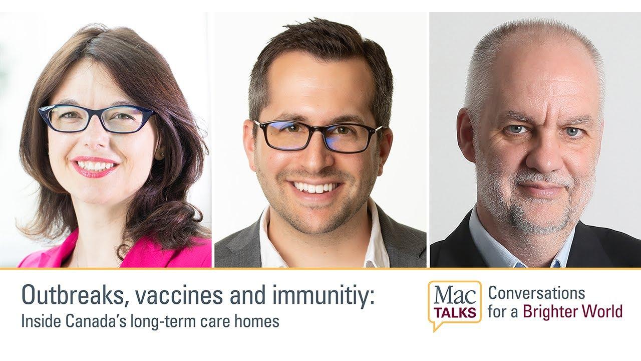 Image for MacTalks – Outbreaks, vaccines & immunity: Inside long-term care webinar