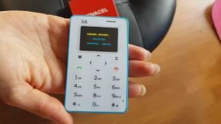 Cel Card Celular en forma de Calculadora