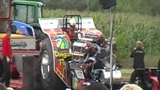 Dragon Fire 5,4t Klasse Tractor Pulling Edewecht 2010