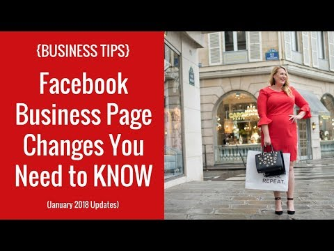 {BUSINESS TIPS} Facebook Business Page Changes You Need to KNOW