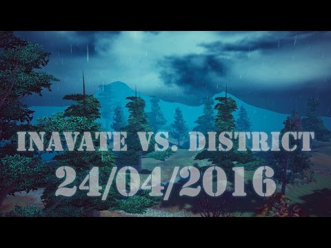 Inavate vs. District 24/04/2016