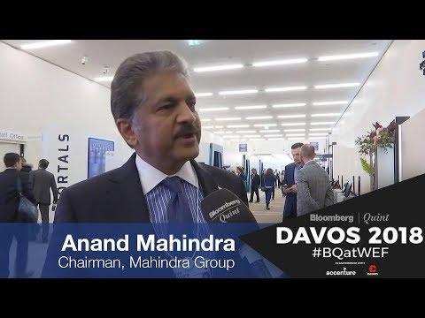 WEF 2018: Anand Mahindra On PM Modi's Speech