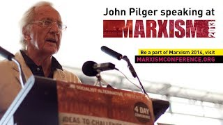 John Pilger speaking @ Marxism 2013 (Full Talk)