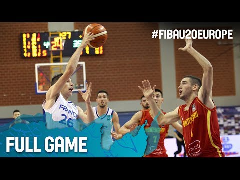 France v Montenegro - Full Game - FIBA U20 European Championship 2017