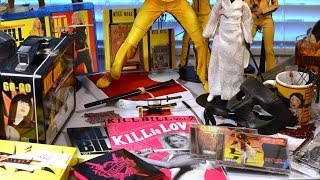 My KILL BILL COLLECTION/ COLLECTIBLES! Neca 1/4 1/6 Figures, Movie Programs, & more!