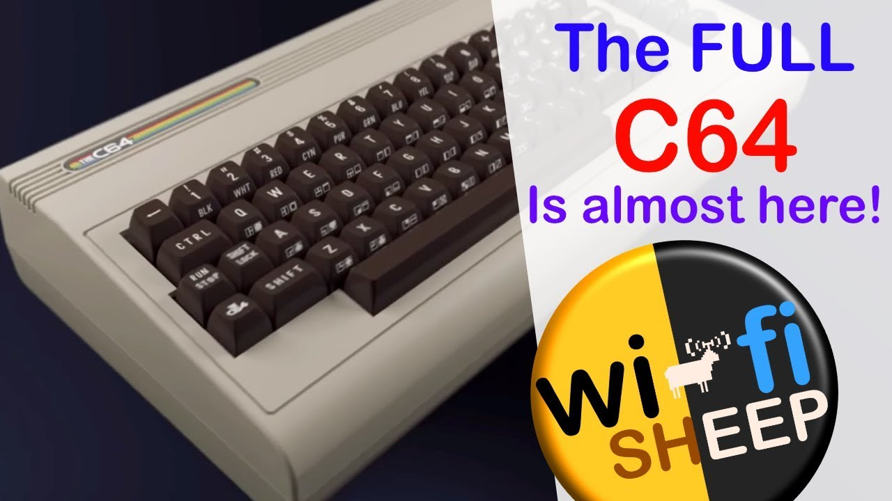 The Full Size C64 Is Almost Here - Some Thoughts
