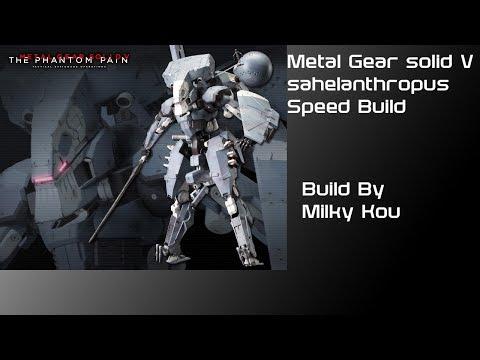 Metal gear V sahelanthropus  Speed build