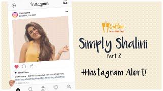 Most people fake a perfect life on social media | Instagram alert | Shalini Pandey | Vivek Reddy thumbnail