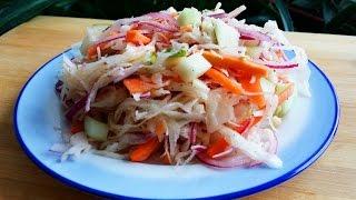 "ФИТНЕС РЕЦЕПТЫ ☞Салат ""Тайский"" | Salad ""Thai"""