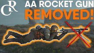 AA Rocket Gun REMOVED! - Battlefield 1 Second half of Turning Tides DLC