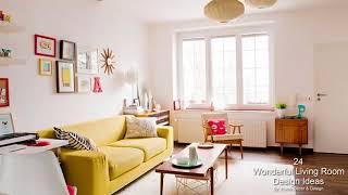 24 Wonderful Living Room Design Ideas