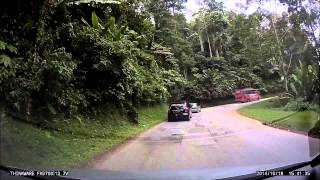 drive from tapah to lakehouse ringlet cameron highlands 20141019