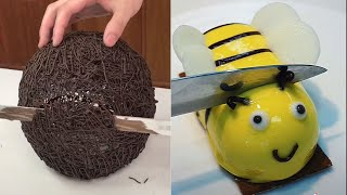Most Satisfying Chocolate Cake Compilation | So Yummy Desserts Chocolate