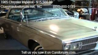 1965 Chrysler Imperial  for sale in Nationwide, NC 27603 at #VNclassics