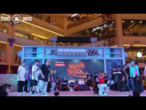 S.T.O (CHINA) vs SAC CREW (THAILAND)   SEMI FINAL   BOTY SOUTH ASIA 2016
