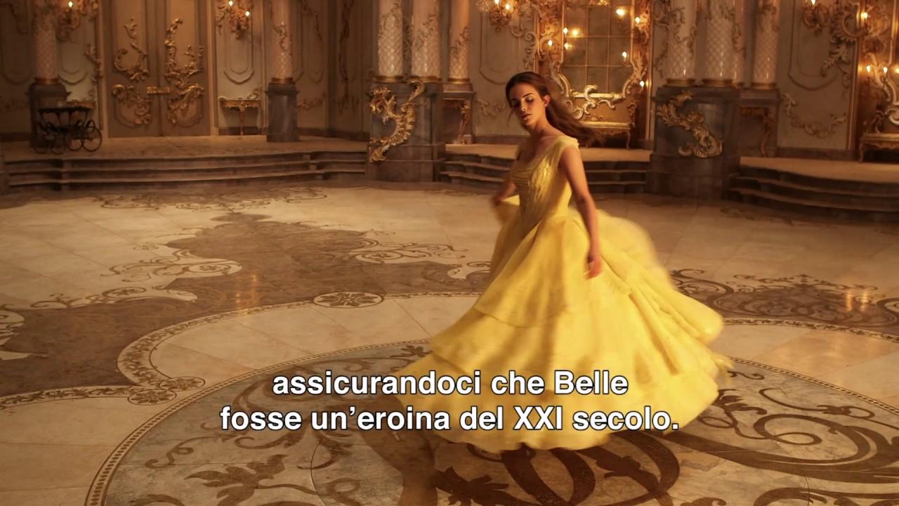 La Bella E La Bestia Il Potere Di Belle Featurette Youtube