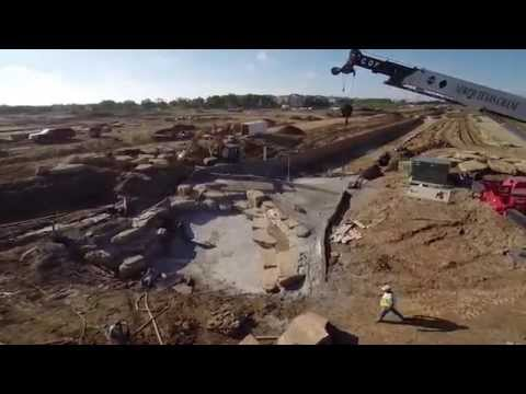 Construction Aerial Video for the River Walk, Flower Mound, TX - May 2014