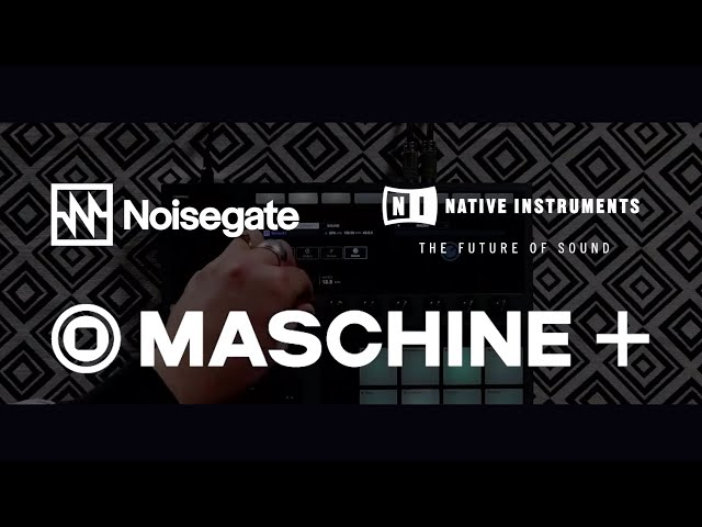 Native Instruments Maschine+ Live Streamed Demo & Chat