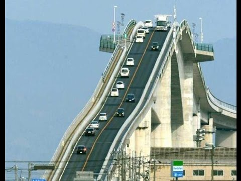 World Most Dangerous Bridge In Japan | Awesome Bridge Japan
